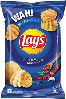 Lays Potato Chips - Masala Magic, 115gm/130gm (Weight May Vary)