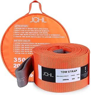 JCHL Recovery Tow Strap Heavy Duty Draw String 4