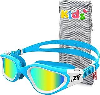 ZIONOR Kids Swim Goggles, G1MINI Polarized Swimming Goggles Comfort for Age 6-14