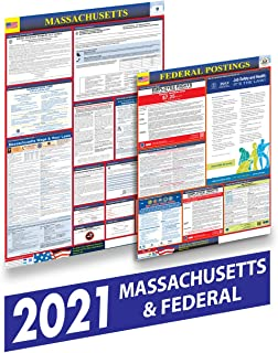 Massachusetts 2021 Labor Law Posters - State and Federal Labor Law Posters for Workplace Compliance