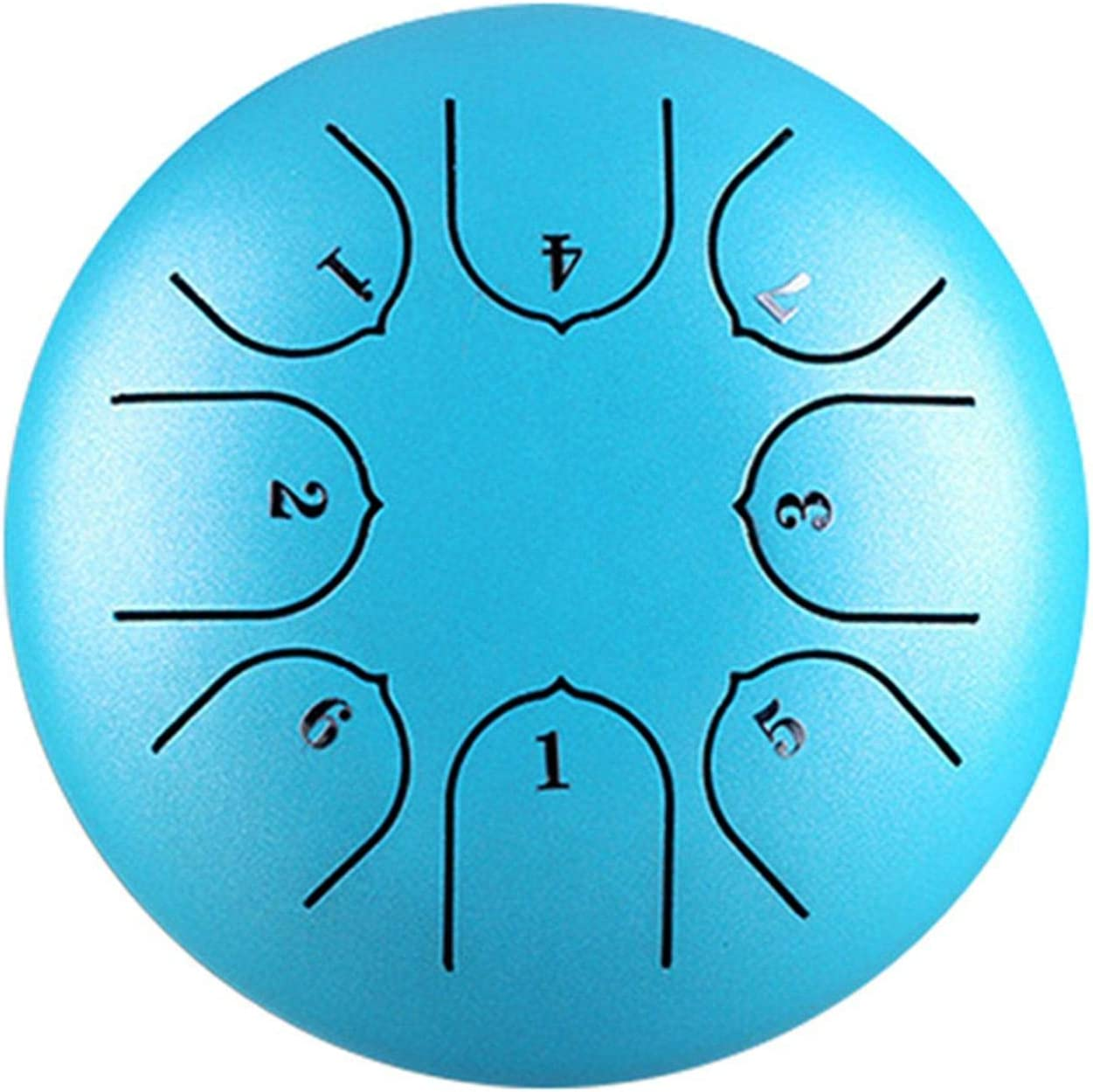 All items in the store A M Steel Tongue Drum 8 Notes Inch 6 Ha Discount mail order Tank Chakra