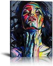 Yatsen Bridge Banksy Street Art Colorful Graffiti Posters Painted Woman Graffiti Canvas Paintings Wall Decor for Living Ro...