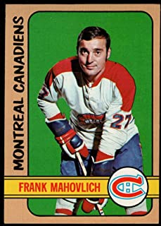Hockey NHL 1972-73 Topps #140 Frank Mahovlich Canadiens