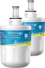 Waterdrop NSF 53&42 Certified DA29-00003G Refrigerator Water Filter, Compatible with Samsung DA29-00003G, Aqua-Pure Plus DA29-00003B, HAFCU1, DA29-00003A, Advanced, Pack of 2