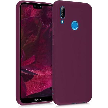 kwmobile Coque Compatible avec Huawei P20 Lite Housse de t/él/éphone en Silicone Vert Matcha
