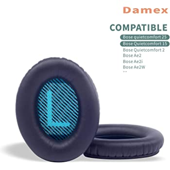 CC Kimico 2 Pieces Foam Ear Pad Black w//Green L//R Mesh Replacement Earpads Cushion Repair for Bose Compatible with Quietcomfort 2 // Quiet Comfort 15 // QC 25 // QC 35 // Ae2 // Ae2i // Ae2w