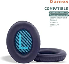 Damex Headphone Ear Pads Replacement Cushion for Bose QC25 Quiet Comfort 25,..