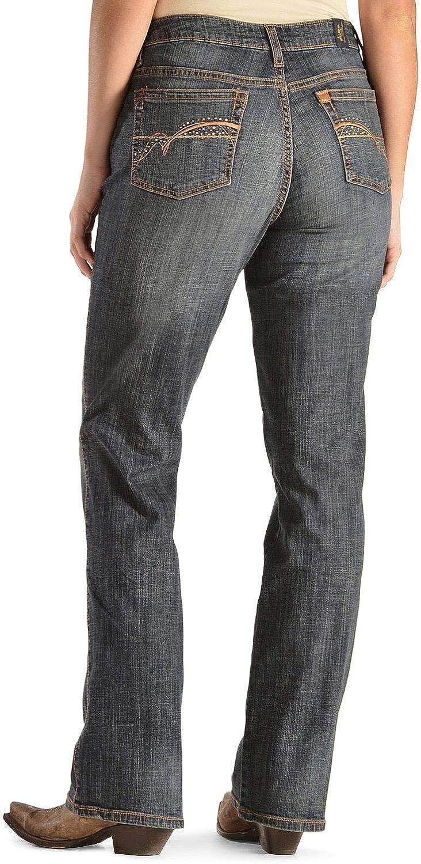 Max 72% OFF Wrangler womens Superlatite Aura Mid-rise Jeans Instantly Slimming