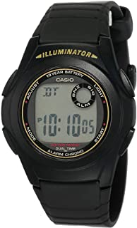 ساعة كاسيو للرجال F-200W-9A- رقمي، كاجوال