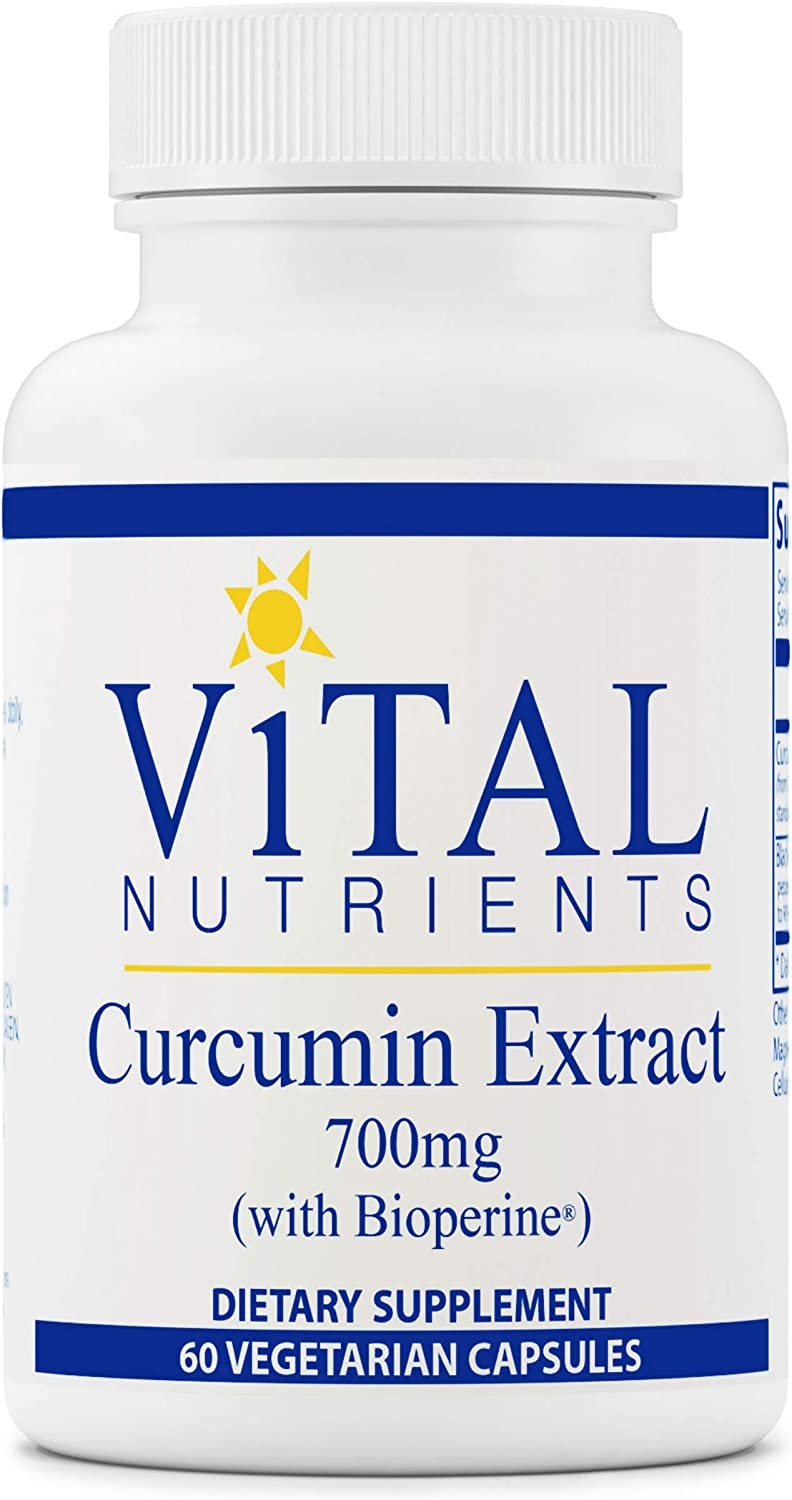 Vital Nutrients Cheap super special price - Curcumin Extract with Bioperine Nutritiona mart