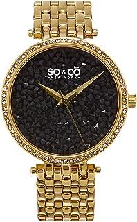 SO&CO New York Dress Watch Analog Display Quartz for Women 5080.3