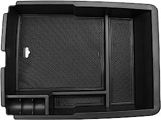 CDEFG Mittelkonsole Handschuhfach Armlehnen Aufbewahrungsbox für Kia Sorento MQ4 2020 2021 Update Multifunktionaler Aufbewahrung Auto Center Console Organizer Tray mit Gummimatten Innenraum Zubehör