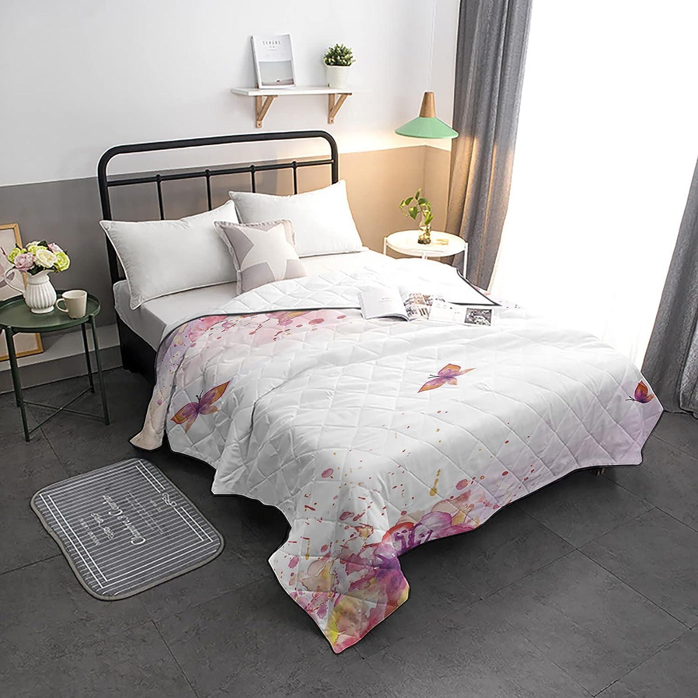 HELLOWINK Bedding Comforter Duvet National uniform free shipping Twin Size-Soft Qu Lighweight Over item handling