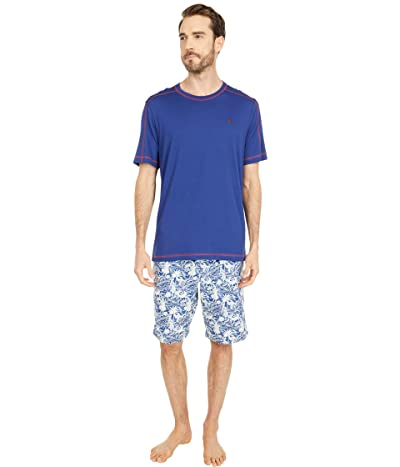Tommy Bahama Woven Jam Pajama Set (Waikiki) Men