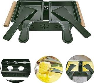 Appareil Raclette à la Bougie de Couple, Poêlons Bougie Four Fromage Grill, Fournitures de Cuisine de Pique Machine a Racl...