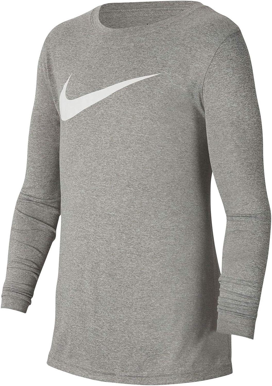 Nike Kids Boy's Dry Legend Long Sleeve Training T-Shirt (Big Kids)