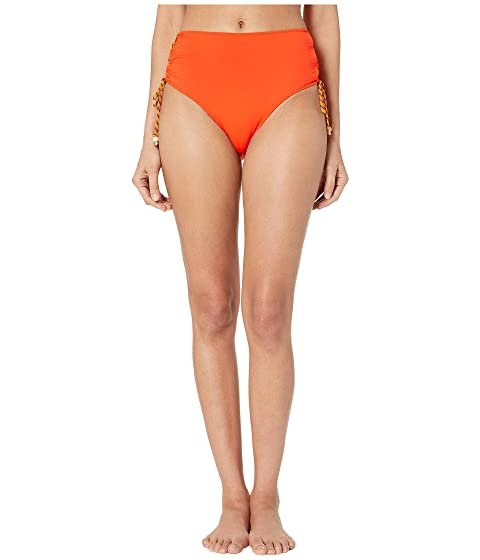 Stella McCartney Lacing High-Waist Bikini Bottoms