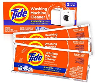Washing Machine Cleaner by Tide, Washer Machine Cleaner Tablets for Front and Top Loader Machines, 3 Count Box
