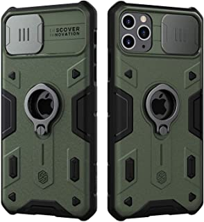 Nillkin iPhone 11 Pro Case, CamShield Armor Case with Slide Camera Cover, PC & TPU Impact-Resistant Bumpers Protective Cas...