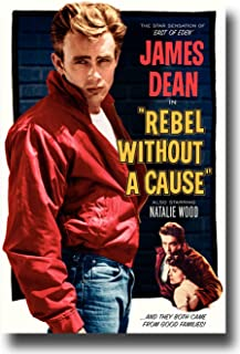 Rebel Without a Cause Poster Movie J 11x17 James Dean Natalie Wood Sal Mineo Jim Backus MasterPoster Print, 11x17