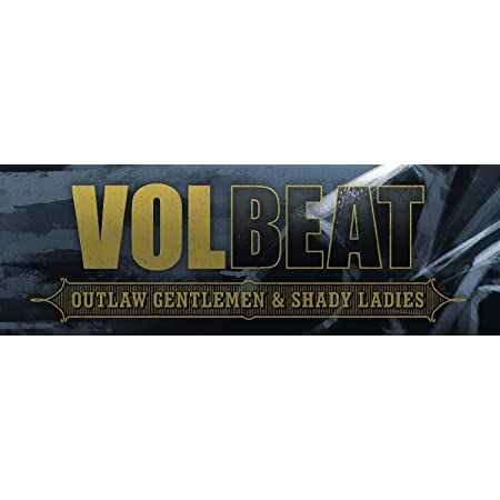 Volbeat Guitar Gangster Grey Autoaufkleber Sticker Aufkleber Wasserfest Auto