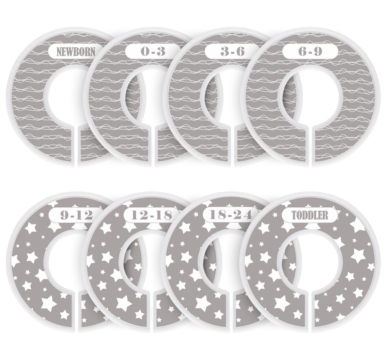 8 Pack Baby Closet Dividers Size Round It is very popular Nursery Clothing 100% quality warranty!