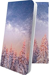 moto g8 plus ケース 手帳型 星 星柄 星空 宇宙 夜空 星型 雪国 もみの木 モト プラス 雪 雪の結晶 motog8 g8plus 風景 11692-ffzdlf-10001632-motog8 g8plus