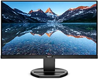 "Philips 276E8FJAB 27"" Class IPS Slim LED Monitor, 2560 x 1440, 350cd/m2, 4ms, Speakers, VGA, DisplayPort, HDMI Black 25 inch"