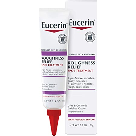 Eucerin Roughness Relief Spot Treatment, Targeted Treatment for Extremely Dry, Rough Skin, 2.5 oz Tube
