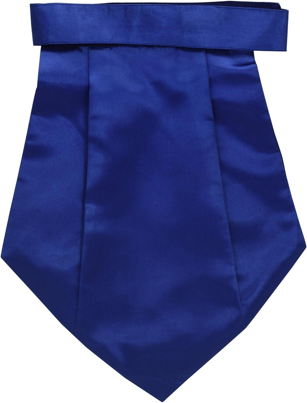 Men's Cravat Tuxedo Party Couture Tie Royal Blue Neck Accesories for him