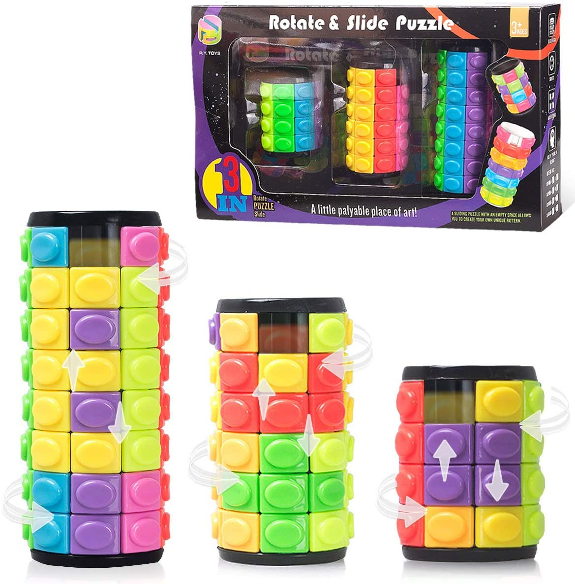 R.Y.TOYS Fidget Toys Special Al sold out. price for Adults Teens Magic Boys Cube Puzz Girls