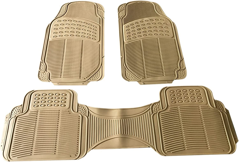 Eco-Friendly Max 86% OFF Floor Mat 3pcs Replacement Car Anti-Slip Flo Rubber 5 ☆ popular