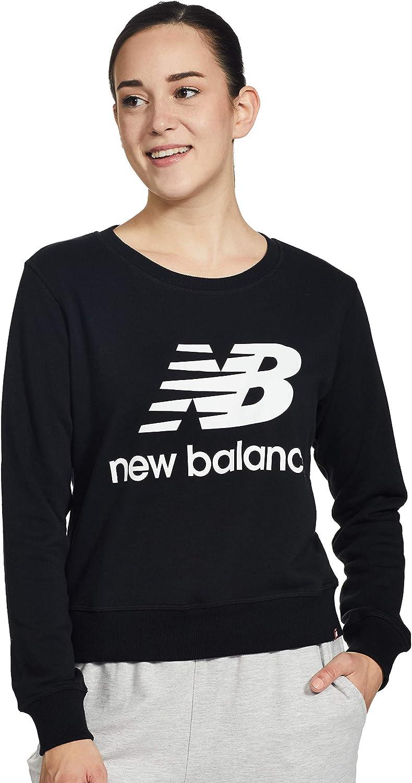 New Balance Men's Essentials Stacked Super Special Ranking TOP5 SALE held Crew Logo