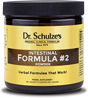 Dr. Schulze's | Intestinal Formula #2 | Herbal Colon Cleanse Formula | 8 Oz. Jar