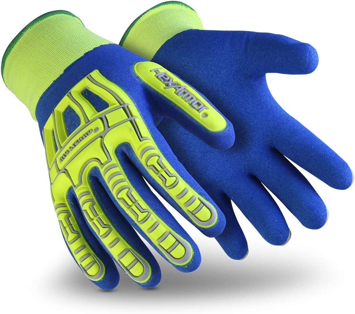 Today's only HexArmor Rig Lizard Fluid 7101 Gloves Work Resistant Max 76% OFF Water with