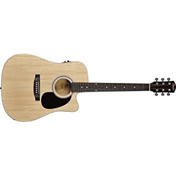 Fender 0930307006 SA-105CE Dreadnought - Guitarra eléctrica, color ...