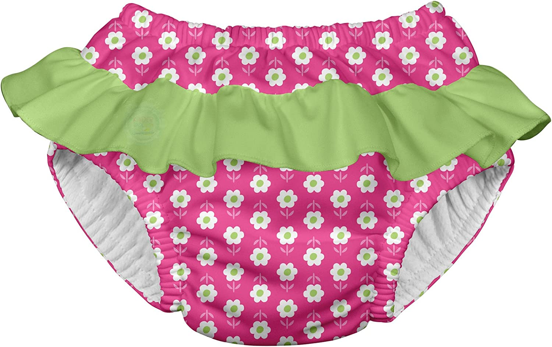 711053-204-45 18-24 meses Pa/ñal para nadar con volados color rosa i play