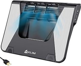 KLIM Airflow+ ノートパソコンクーラー クロスフロータービン 10~17インチ対応 5年保証