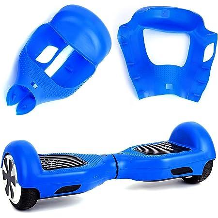 """Willdo Silicone Cove para 6.5""""2 Wheels Balance Scooter - Balance Hover Board Protector Funda Cubierta (Azul Claro/Rosa/Negro/Verde/Azul)"""