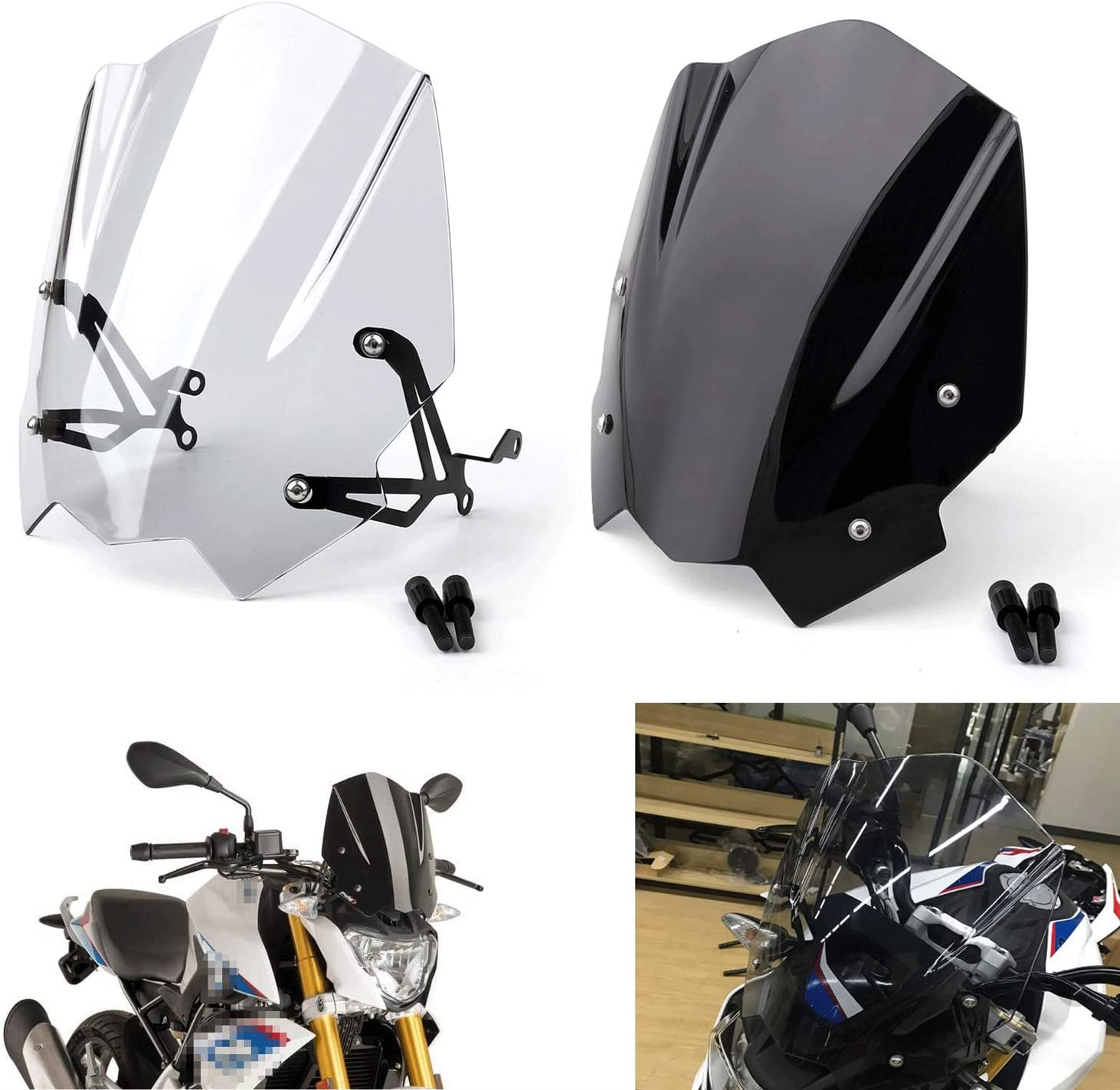 Tall Fairing Daily bargain sale Soldering Fit for G310R Windscreen with Windshield 2017-2018