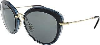 Kính mắt nữ cao cấp – MU50RS 1AB9K1 Black/Crystal Grey MU50RS Cats Eyes Sunglasses Lens Cat