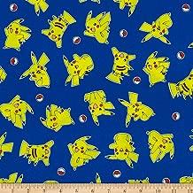 pikachu fabric by the yard