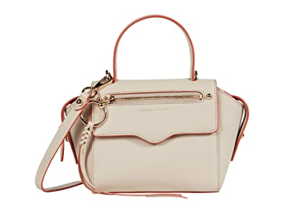 Rebecca Minkoff Gabby Small Satchel (Tahini) Handbags