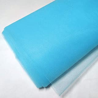 #45 Soft Tulle Fabric Blue Tulle by the Roll DARK TEAL Tulle Blue Tulle by the Bolt Tulle Skirt Material Wholesale Greenish Blue Tulle
