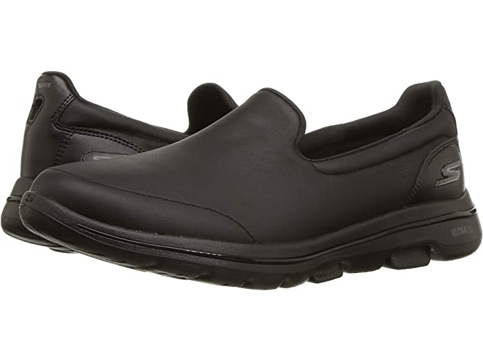 skechers leather white shoes