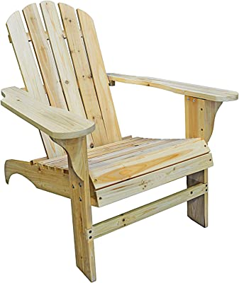 Amazon Com Lifetime Faux Wood Adirondack Chair Light