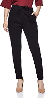 ONLY drawstring fashion jogger for Womens in Black, XS