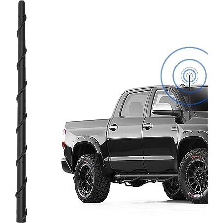 Stealth Black Drogo X Racing D1150-500MSA1-BK01 DROGO 5 MissileX Replacement Antenna for Toyota Tundra 1999-2018 FM//AM Reception Enhanced Tough Material Creative Design