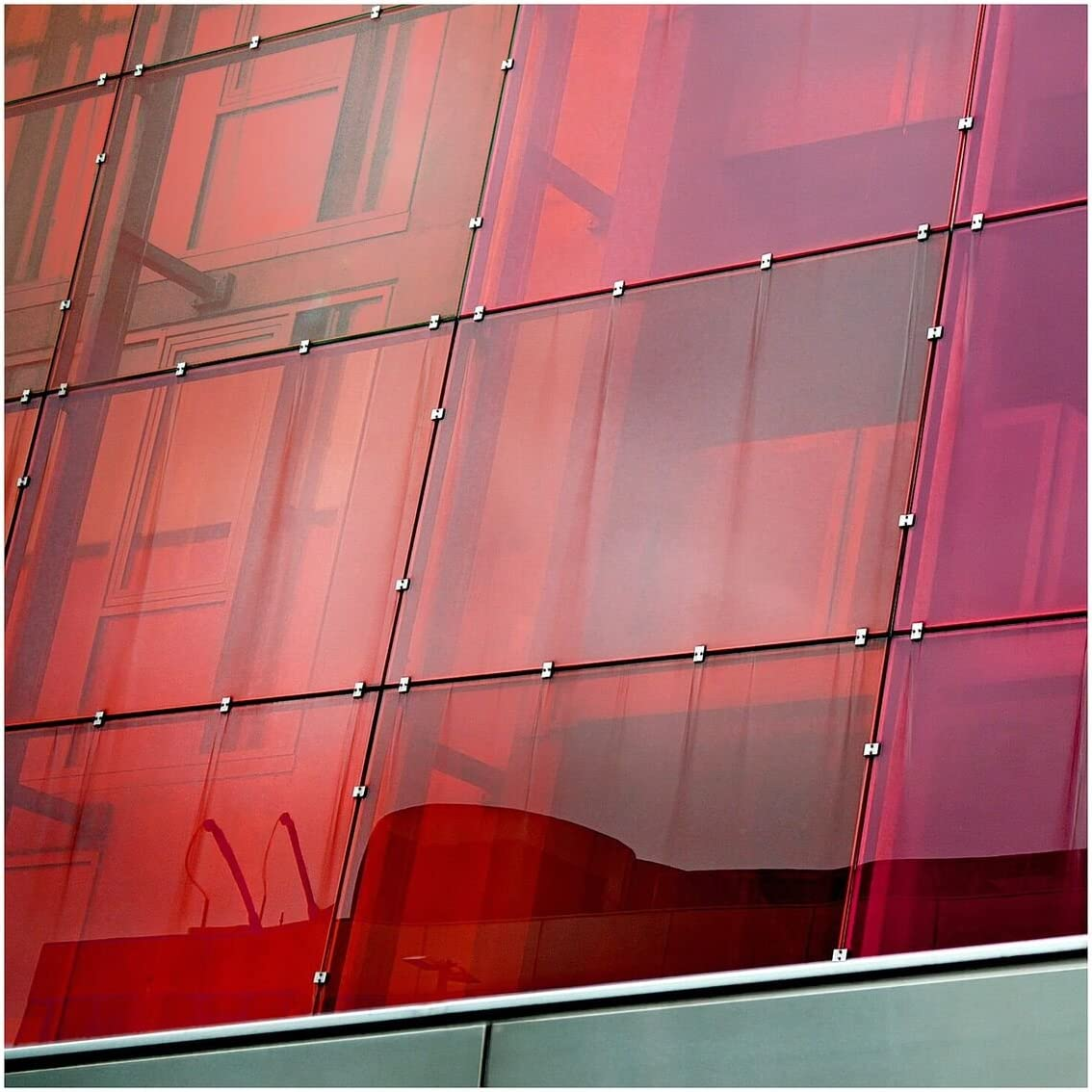 BDF Card Limited time for free shipping Window Film Transparent Color 25ft X Red 36
