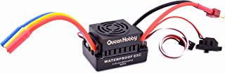 Readytosky RC 60A Brushless ESC Waterproof Electric Speed Controller with 5.5V/3A BEC for 1/10 RC Car